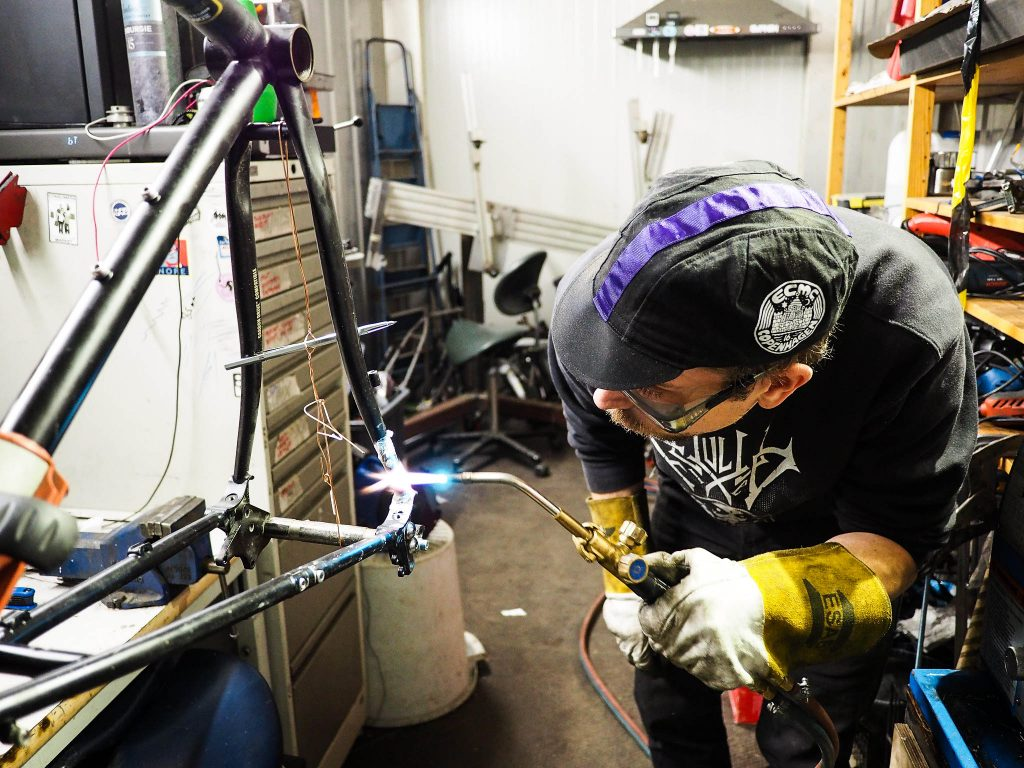 Pelago Bicycles presents Build-A-Pelago, invitational contest for bicycle frame builders.